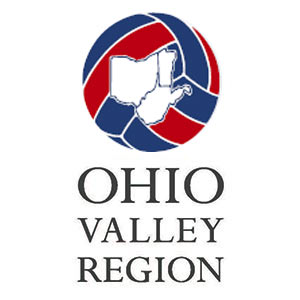 Ohio Valley Region Volleyball Logo